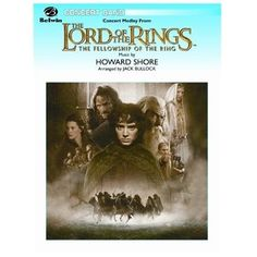 Alfred Publishing 00-CBM02010 Concert Medley From The Lord of the Rings: The Fellowship of the Ring - Music Book, As Shown