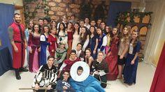 Representación teatral de Romeo and Juliet, de 3º bilingüe en inglés, a cargo de Mónica Villena, en el IV aniversario de la muerte de W. Shakespeare