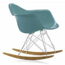 Ray and Charles Eames rocking chair