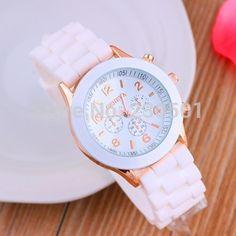 Relojes хомбре 2015 часы женщины-многоцветный студня молодая школьница наручные часы мода кварцевые часы цвет платья женщин часы