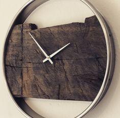 Die 7 besten Bilder auf wanduhr Holz in 2017   Wall Clocks, Wood ...