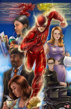 Team Flash by TyrineCarver