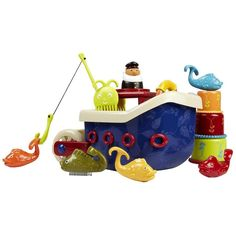 Children's Bath Time Boat Toy