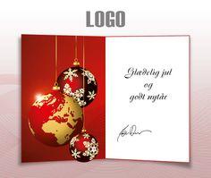ekortet.dk leverer danmarks flotteste elektroniske julekort til virksomheder.På billedet: Julekort med logo. Julepynt. Juletræskugler.Ekort, e-kort, e-julekort, ejulekort, elektroniske julekort, ecard, e-card, firmajulekort, firma julekort, erhvervsjulekort, julekort til erhverv, julekort med logo, velgørenhedsjulekort, julekort