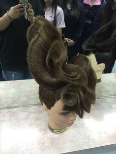 50s Hairstyles, Creative Hairstyles, Black Girls Hairstyles, Competition Hair, Fantasy Hair, Hair Shows, Girls Braids, Crazy Hair, How To Make Hair