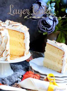 Gâteau Layer Cake au Citron Meringué, La Meilleure Recette