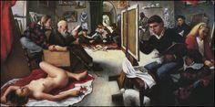 The Artist's Studio, 1988, by Bruno Surdo.