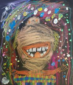 Ohňostroj, giokondy, fosforeskující barvy svítící ve tmě. Vytvořili předškoláci v našem výtvarném studiu. Captain Hat, Studios, Hats, Hat, Hipster Hat
