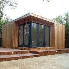 Garden Lodges | Garden Studios, Garden Rooms and Garden Offices. Contemporary Garden Buildings