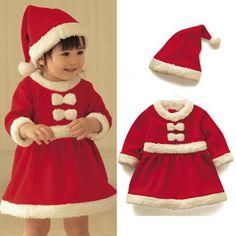Enfants De Noël cadeau 2016 bébé salopette bébé filles garçons Santa Claus costume outfit nouveau-né garçons filles barboteuse enfants costume