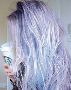 Light Blue and Purple Ombre