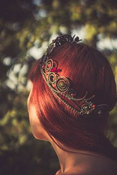"mirrorofthemagus: "" Mabon Crown. Photo by Natalia Olkhovataya. Please retain photographer's credit; thank you. """