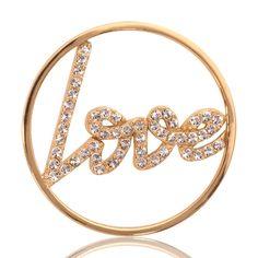 Nikki Lissoni Sparkling Love Coin C1003SM
