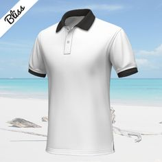 Pink Shorts, White Shorts, Custom Polo Shirts, Cool Things To Buy, Collections, Suits, Summer, Dark Blue, Contrast