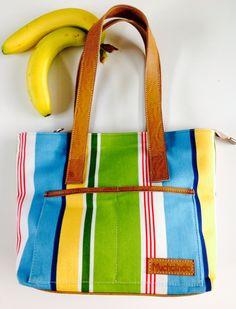 Shopping bag flor arco iris