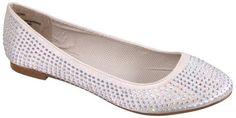 Madden Girl Tazorr Rhinestone Shoes Womens Flats