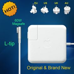 Nieuwe Goede magsafe 60 W 16.5 V 3.65A power adapter oplader voor apple macbook pro a1184 a1330 a1344 a1278 a1342 a1181 A1280
