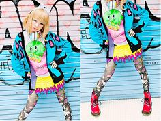 MayClover: Clothes inspired by Kyary Pamyu Pamyu