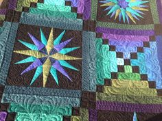 moonglow pattern quilt - Google Search