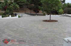 La Habra Heights - Driveway - Mega Lafitt Pavers, Victorian, View 2 - http://www.gopavers.com
