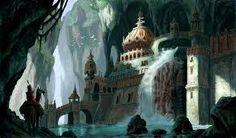 Výsledok vyhľadávania obrázkov pre dopyt watermill in a dark fantasy forest