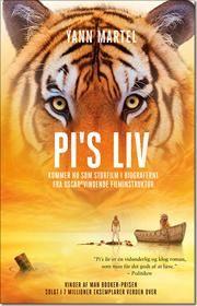 Pis liv af Yann Martel, ISBN 9788771372335