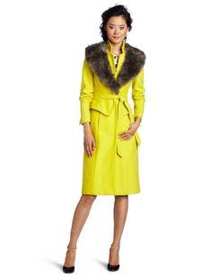 Tracy Reese Women's Peplum Coat:Amazon:Clothing
