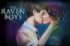 The Raven Boys by Maggie Stiefvater  Gansey & Blue :)