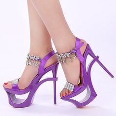 46.88$  Watch here - http://alii6w.worldwells.pw/go.php?t=32619806805 - 2016 summer women sandals Rome 16CM shoes with ultra fine sexy high-heeled shoes waterproof Rhinestone sandals Shaped heel shoe 46.88$