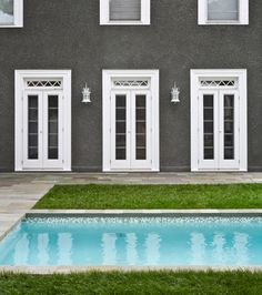 White Stucco Homes black houses - home exterior paint ideas | benjamin moore, dark