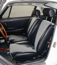 Pepita inserts for LWB seats - Rennlist Discussion Forums