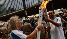 Paralympic Torch Visits São Paulo Ahead of 2016 Rio Paralympics