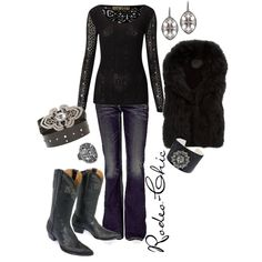 """Untitled #4"" by rodeo-chic on Polyvore"