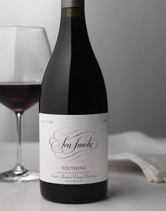 Sea Smoke Wine Sea Smoke Cellars Wine Label & Package Design Botella Santa Rita Hills Santa Barbara County Award Winning