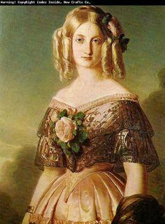 XIX век в портретах немецкого живописца Франца Винтерхальтера