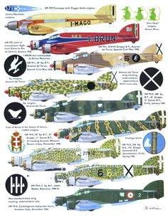 Savoia Marchetti Sparviero Page Passenger Aircraft, Ww2 Aircraft, Fighter Aircraft, Military Aircraft, Fighter Jets, Old Planes, Aircraft Painting, Aircraft Design, Aviation Art