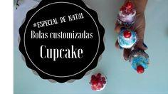 Bola de cupcake #especialdenatal