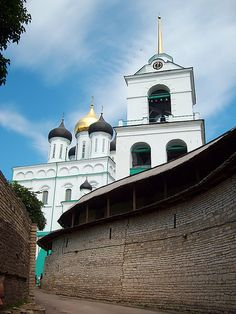 Trinity Cathedral in Pskov,Russia