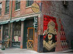 Arnold's Bar & Grill: oldest bar in Cincinnati, with a good gluten free menu.