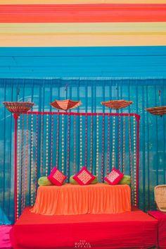 Decoration Ideas - The Wedding Decoration! Photos, Hindu Culture, Beige Color, Decoration, Destination Wedding, Stage Decoration pictures, images, vendor credits - The Royal Affair Photography, WeddingPlz