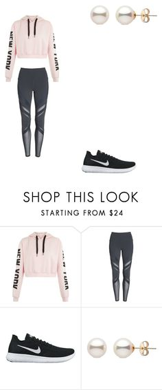 """""""jym"""" by ikatsamaki on Polyvore featuring Alo and NIKE"""
