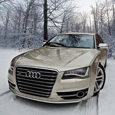 #Audi S8 #Gold
