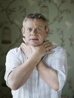 Martin Clunes( Doc Martin and great animal activist)
