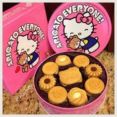 Hello Kitty Cookies, 40th Anniversary, Hug, Instagram Posts, Desserts, Food, Tailgate Desserts, Deserts, Essen