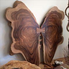 Beautiful Walnut raw wood Butterfly #rawwood #walnut #furniture