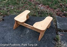 Handmade Furniture Low Poop Stoop Partial-Squat Toilet Foot Stool ** Want additional info? Click on the image.