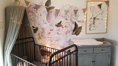 Peony Wall Decals - Free Domestic Shipping Over $99 USD. Each order includes 9 different peonies ranging in size to create a wallpaper like effect. Order today from UrbanWalls.
