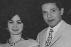 جولولي   صورة نادرة تجمع الدكتور مصطفى محمود مع زوجته في عمر الشباب