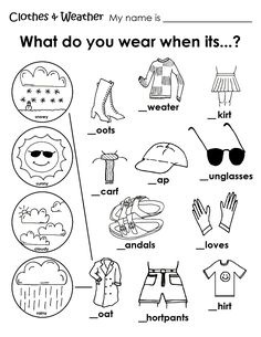 Free Kids weather Activities Printables - WOW.com - Image Results