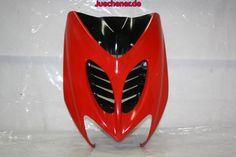 Yamaha Aerox Frontverkleidung oben rot  Check more at https://juechener.de/shop/ersatzteile-gebraucht/yamaha-aerox-frontverkleidung-oben-rot/
